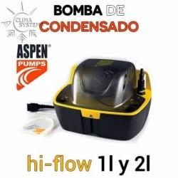 BOMBA DE CONDENSADO ASPEN hi-flow 1l y 2l