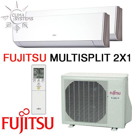 Fujitsu Multisplit 2x1