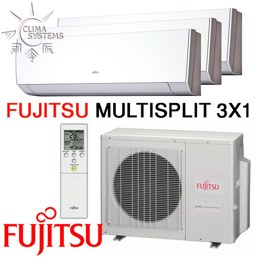 Fujitsu Multisplit 3x1